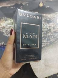 Título do anúncio: Perfume Bvlgari Man In Black Original / Novo