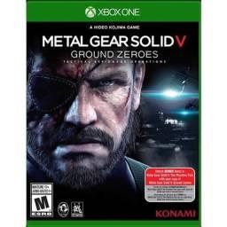 Metal gear solid 5 Xbox one semi novo.