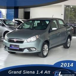 Título do anúncio: Grand Siena Attractive 1.4 Completo Entrada 5.000-2014