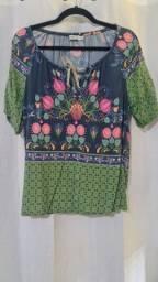 Blusa estampada - tamanho: P - Peepou
