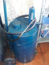 Bomba De trasferencia  de óleo  com carrinho 60 litros