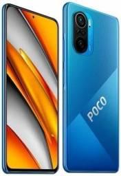 Título do anúncio: Poco F3 128gb Azul Novo