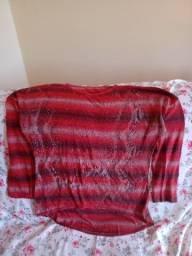 Blusão vermelho feminino  T: G