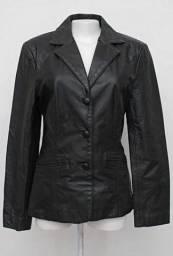 Título do anúncio: Jaqueta preta couro pele feminino