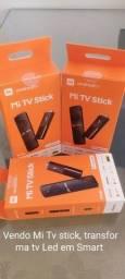 Título do anúncio: Vendo Mi Tv Stick transforma tv Led em Smart Tv