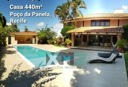 Casa com piscina no Poço da Panela 440m² Recife. (Ref. 27484V)