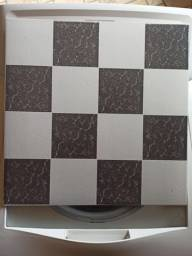 Título do anúncio: Piso cerâmica estilo xadrez