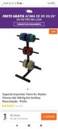 Suporte Expositor Torre para Anilhas KL- até 300 kg
