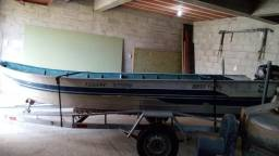 Título do anúncio: Barco de aluminio 5 metros borda alta