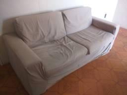 Sofá com capa 350 reais