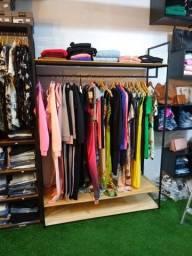 Título do anúncio: Araras,Prateleiras Móveis para lojas