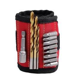 Título do anúncio: Nova pulseira magnética forte portátil, bolsa de ferramentas para parafuso