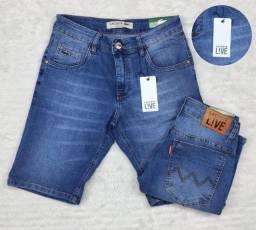 Título do anúncio: Bermuda jeans masculina Lacoste