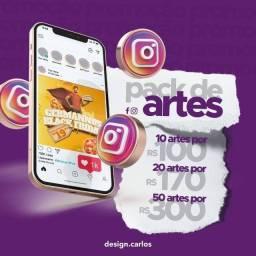 Título do anúncio: Pacotes para sua rede social!