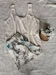 Pijamas feminos 100% algodão