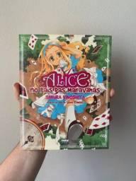 Mangá Alice No País Das Maravilhas Colorido Newpop Original