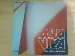 Vinil novela Água Viva - Internacional