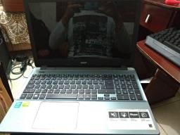 Título do anúncio: Notebook Acer aspire E15 para retirada de peças