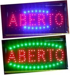 Placa Painel Letreiro De Led Luminoso