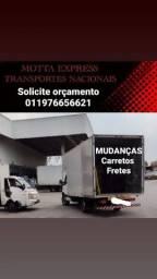 Título do anúncio: Mudanças, Fretes e Carretos por todo Brasil