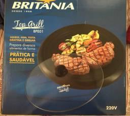 TOP GRILL BRITÂNIA - BPE01 *Lacrado na caixa, nunca utilizado*