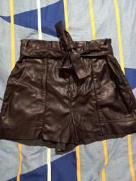 Título do anúncio: Shorts couro Bluesteel