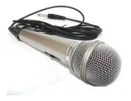 Microfone Dinâmico Com Fio Lelong LE - 701