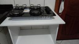 Fogão cooktop de 4bocas