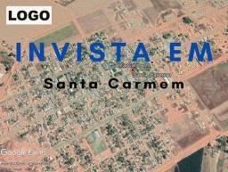 Terreno à venda, 930 m² por R$ 120.000,00 - Zona Rural - Santa Carmem/MT