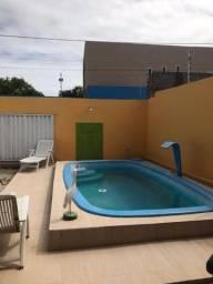 Linda casa na Barra Nova com piscina 1.500,00