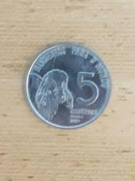 Moeda de cinco centavos