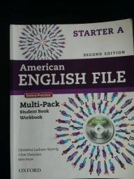 Livro de Inglês American English File Starter A, 2° edição