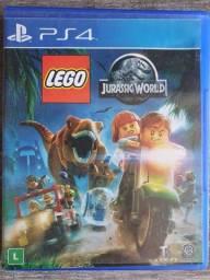 Título do anúncio: Lego Jurassic Word - Mídia Física Usada PS4