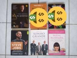 Livros Financeiro, Auto Ajuda e Empreendedorismo