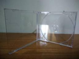 Caixinhas de CD/DVD