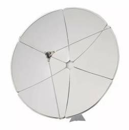 Antena Parabólica 1,5m de chapa