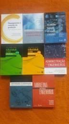 Kit livros engenharia de produção