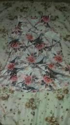 Blusinha floral fofa
