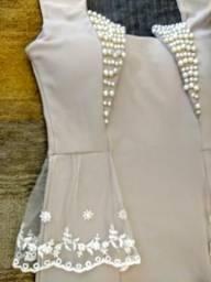 d0660a3d8 vestido bordado em perola