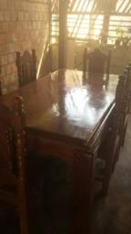 Mesa de madeira Angelin