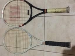 2 Raquetes de tenis Wilson