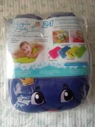 Almofada para banho e ninho para bebê (Novo)