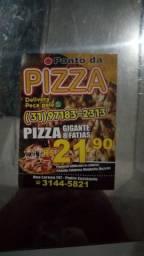 Contrata se pizzaoilo que saiba fazer massa até montagem da pizza