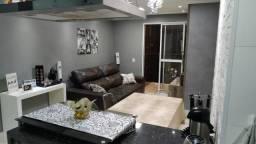 Apartamento 3 dormitórios com suite com sacada,mobiliado-Cond Amista-Sbc