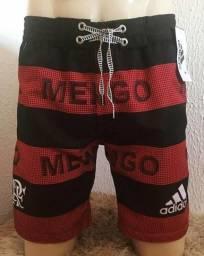 Short do Flamengo tactel grosso