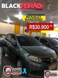 Renault Sandero Expression Hi-Power 1.0 16V 5p - 2016