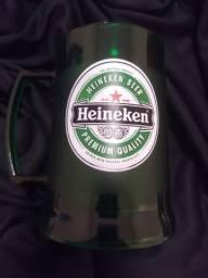 Caneca de gel Heineken