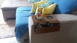 Esteira de sofá com porta controle