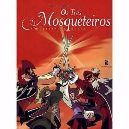 Compo livro Os tres mosqueteiros - versão Hq
