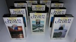 Coleção Jacques Cousteau em VHS